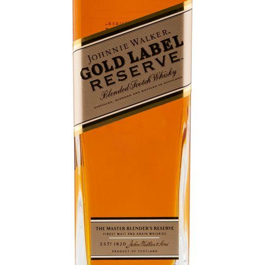 Personalised Johnnie Walker Gold Reserve Whisky 70cl engraved bottle