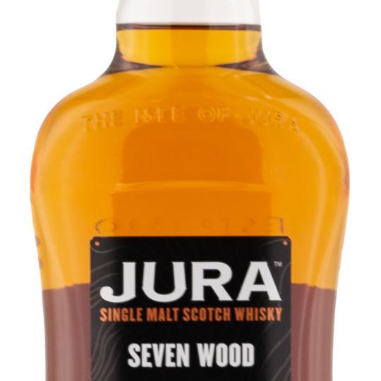 Personalised Jura Seven Wood 70cl Engraved Single Malt Whisky engraved bottle