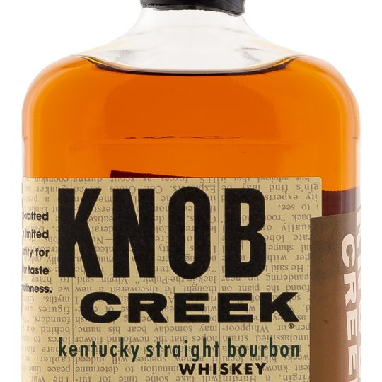Personalised Knob Creek Kentucky Straight Bourbon Whiskey 70cl engraved bottle