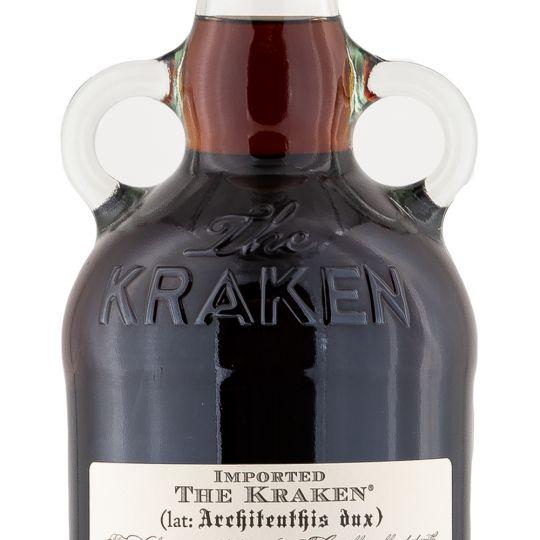 Personalised Kraken Black Spiced Rum 70cl engraved bottle
