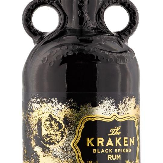 Personalised Kraken Black Spiced Unknown Deep 70cl Engraved Dark Rum engraved bottle