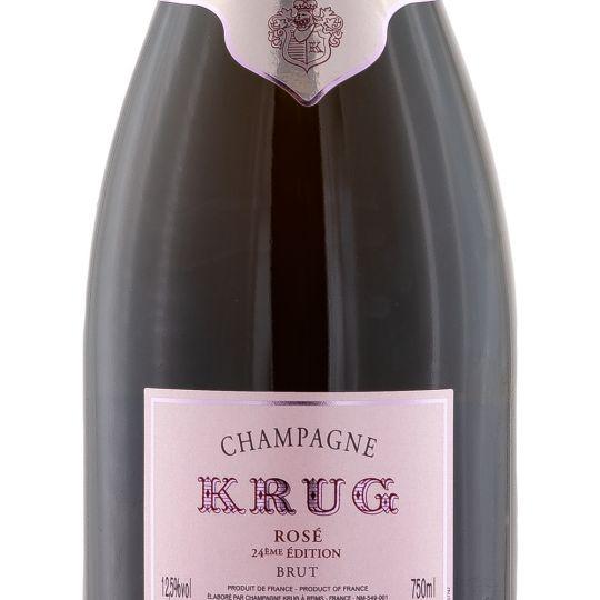 Personalised Krug Rose Champagne 75cl engraved bottle