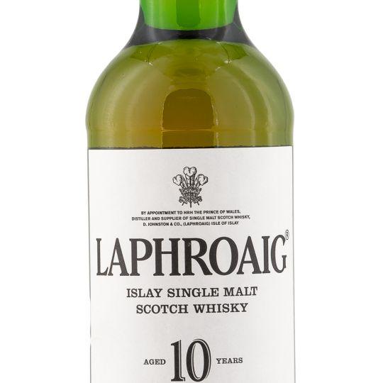 Personalised Laphroaig 10 Year Old Whisky 70cl engraved bottle