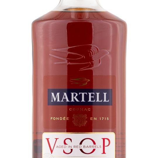 Personalised Martell VSOP Cognac 70cl engraved bottle
