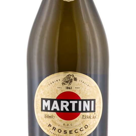 Personalised Martini Prosecco 75cl engraved bottle