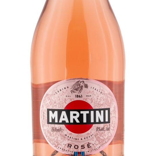 Personalised Martini Sparkling Rose 75cl engraved bottle