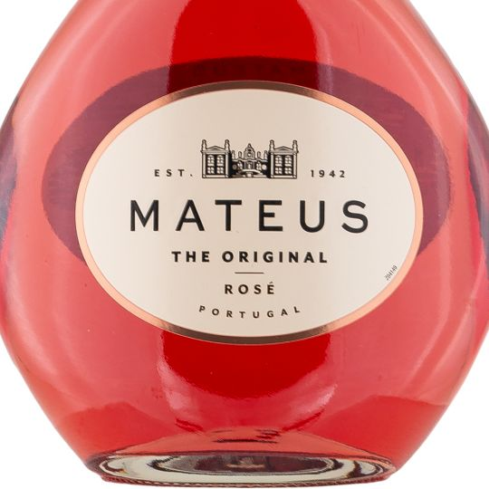 Personalised Mateus Rose Wine 75cl engraved bottle
