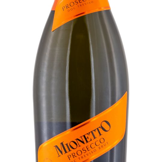 Personalised Mionetto Prosecco DOCG 75cl engraved bottle