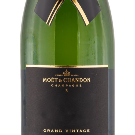 Personalised Moet and Chandon Grand Vintage Champagne 75cl engraved bottle