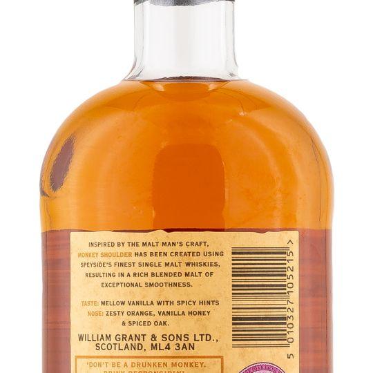 Personalised Monkey Shoulder Whisky 70cl engraved bottle