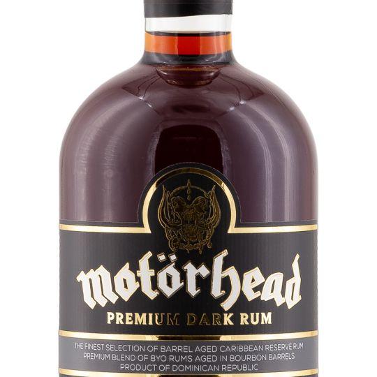 Personalised Motorhead Rum 70cl Engraved Dark Rum engraved bottle