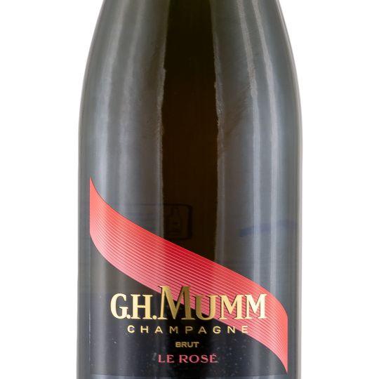 Personalised Mumm Brut Rose Champagne 75cl engraved bottle