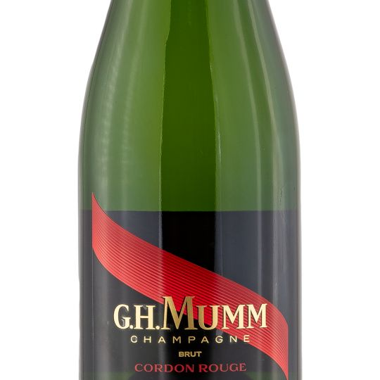 Personalised Mumm Cordon Rouge Champagne 75cl engraved bottle