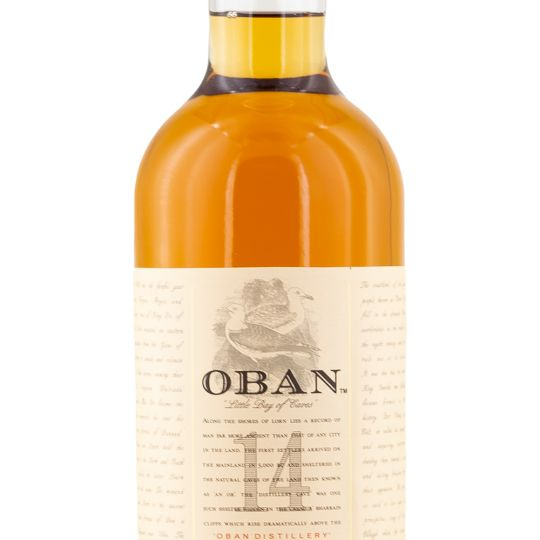 Personalised Oban 14 Year Old Whisky 70cl engraved bottle