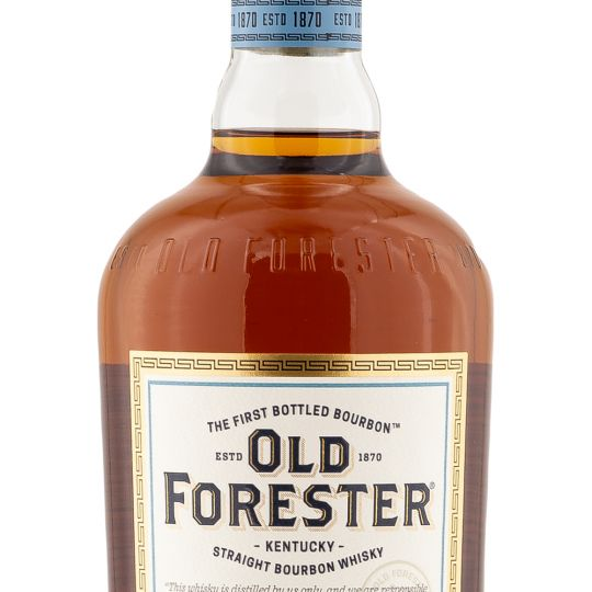 Personalised Old Forester Kentucky Bourbon 70cl Engraved Bourbon engraved bottle