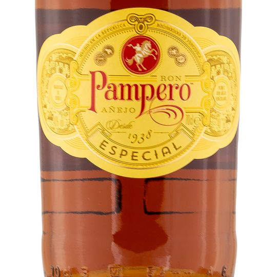 Personalised Ron Pampero Anejo Especial 70cl Engraved Golden Rum engraved bottle