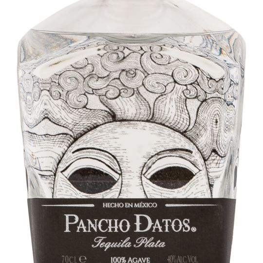 Personalised Pancho Datos Reposado 70cl Engraved Reposado Tequila engraved bottle