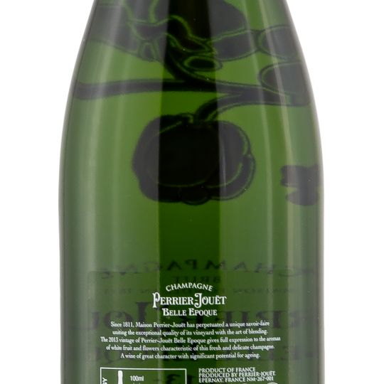 Personalised Perrier Jouet Belle Epoque Champagne 75cl engraved bottle