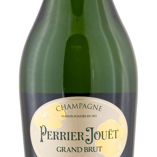 Personalised Perrier Jouet Grand Brut Champagne 75cl engraved bottle