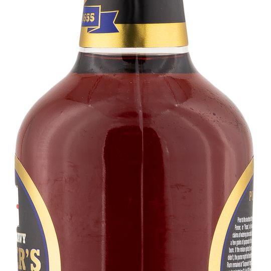 Personalised Pussers Gunpowder Proof Black Label Rum engraved bottle