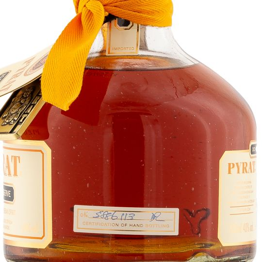 Personalised Pyrat XO Rum 70cl engraved bottle