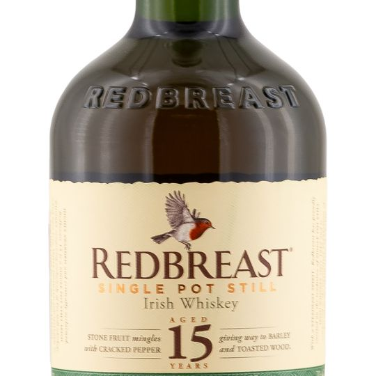 Personalised Redbreast 15 Year 70cl Engraved Whisky engraved bottle