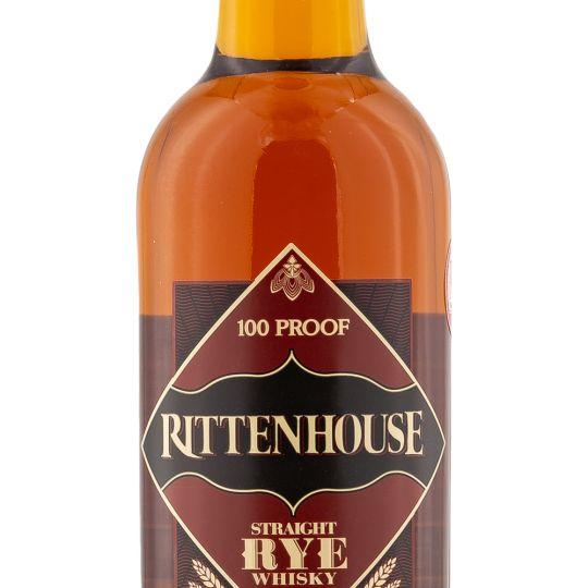Personalised Rittenhouse Rye Whiskey 70cl Engraved Rye Whiskey engraved bottle