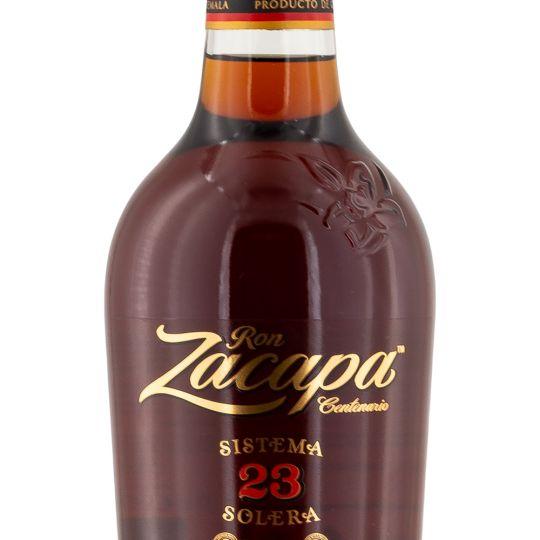 Personalised Ron Zacapa Centenario Sistema Solera 23 Year Old Rum 70cl engraved bottle