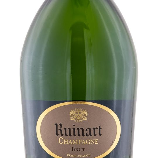 Personalised Ruinart Brut Champagne 75cl engraved bottle
