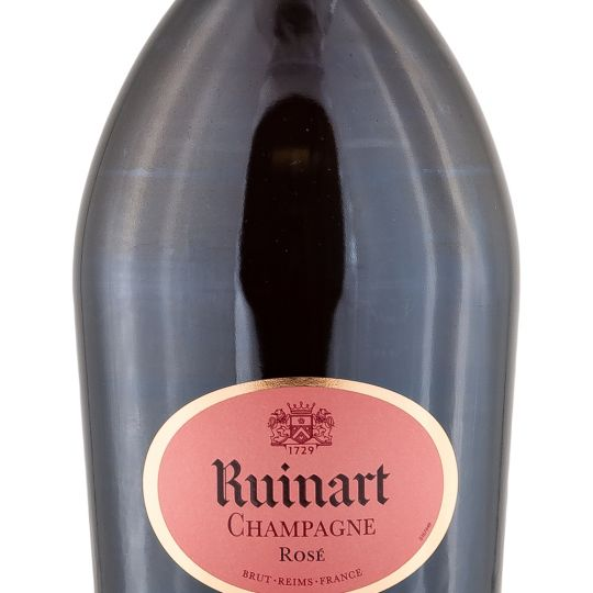 Personalised Ruinart Rose Champagne 75cl engraved bottle