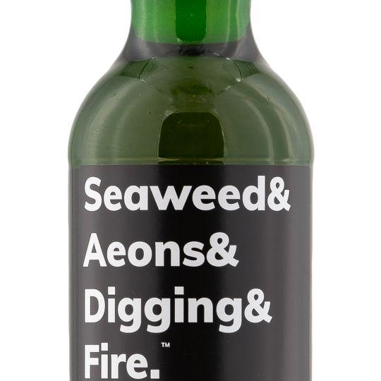Personalised Seaweed & Aeons 10 Year Old 70cl Engraved Single Malt Whisky engraved bottle