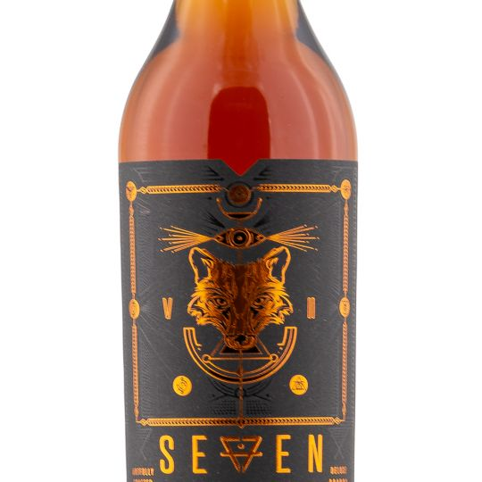 Personalised Seven Tails XO Brandy 70cl Engraved Brandy engraved bottle