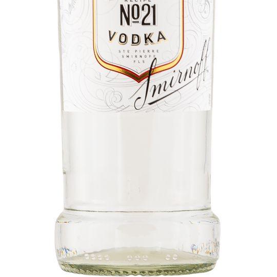 Personalised Smirnoff Red Vodka 70cl engraved bottle