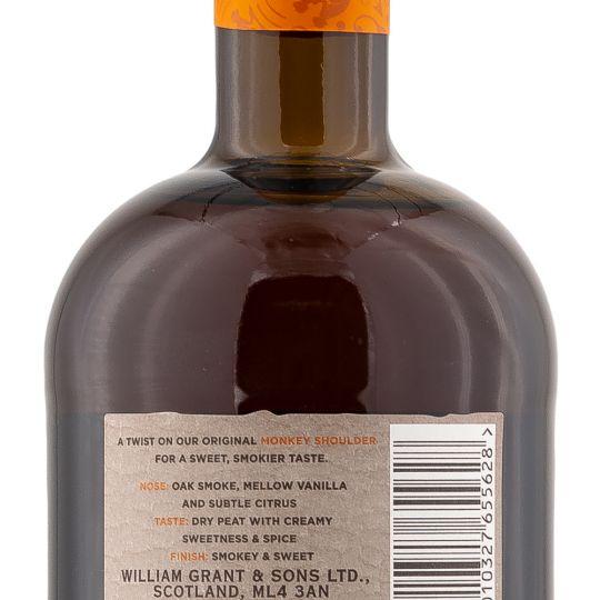 Personalised Smokey Monkey Shoulder 70cl Engraved Whisky Liqueurs engraved bottle