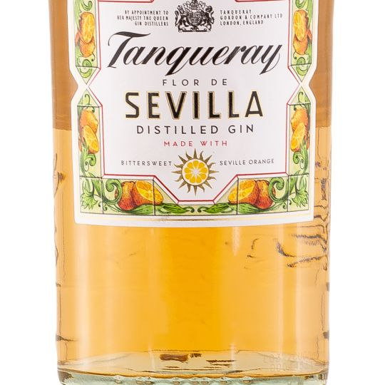 Personalised Tanqueray Flor de Sevilla Gin 70cl engraved bottle