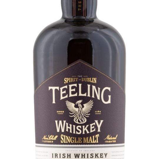 Personalised Teeling Single Malt 70cl Engraved Single Malt Whisky engraved bottle