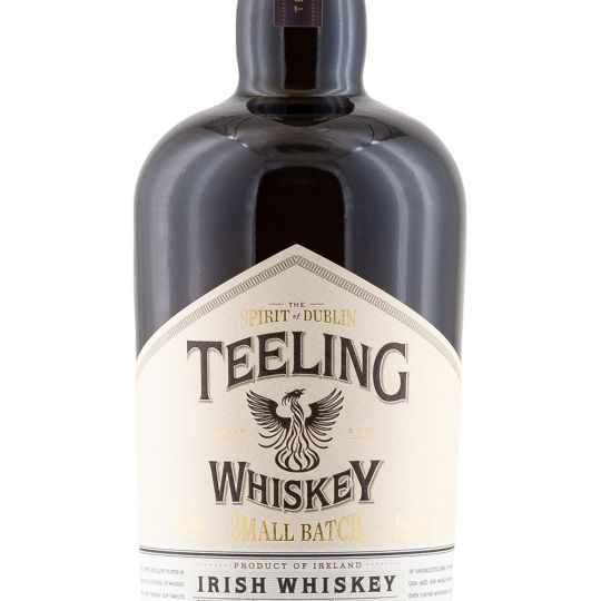 Personalised Teeling Small Batch Whiskey 70cl engraved bottle