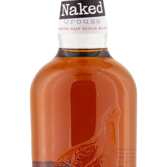 Personalised The Naked Grouse Whisky 70cl engraved bottle