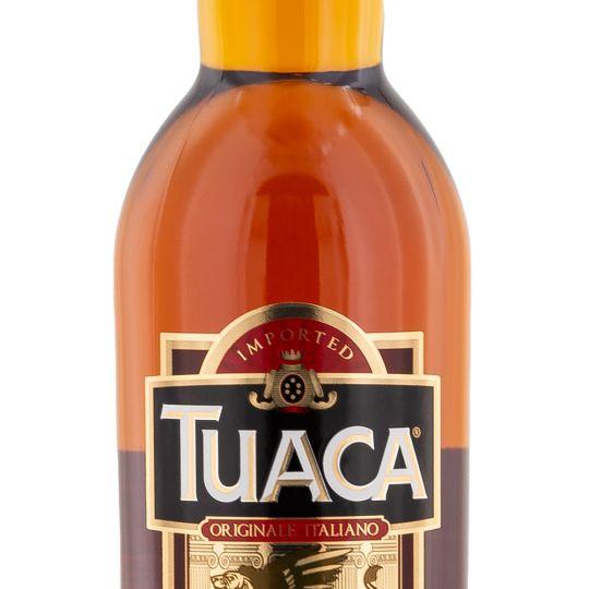 Personalised Tuaca Italian liqueur 70cl engraved bottle