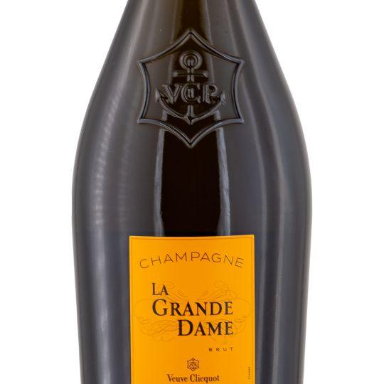 Personalised Veuve Clicquot La Grande Dame Champagne 75cl engraved bottle