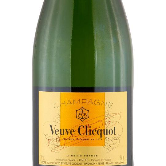 Personalised Veuve Clicquot Vintage Champagne 75cl engraved bottle