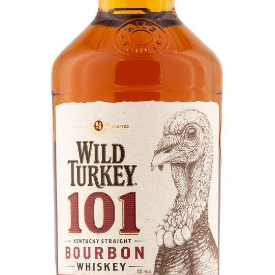 Personalised Wild Turkey 101 70cl Engraved Bourbon engraved bottle