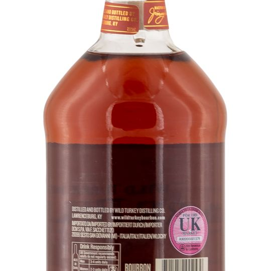 Personalised Wild Turkey Rare Breed Bourbon 70cl engraved bottle