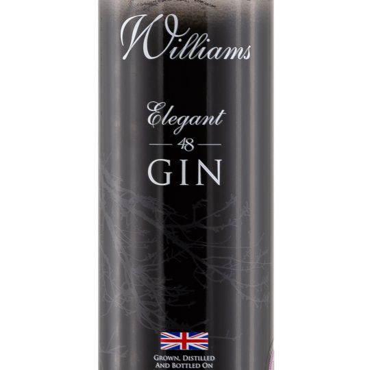 Personalised William Chase Gin 70cl engraved bottle