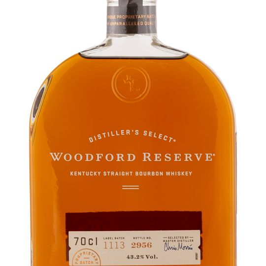 Personalised Woodford Reserve Kentucky Bourbon Whiskey 70cl engraved bottle