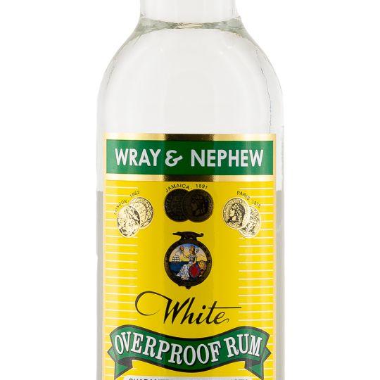 Personalised Wray & Nephew Overproof Rum 70cl engraved bottle