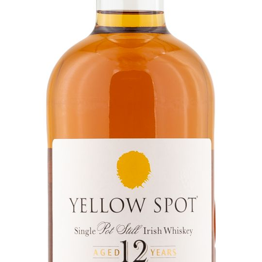 Personalised Yellow Spot 12 Year Old 70cl Engraved Whisky engraved bottle
