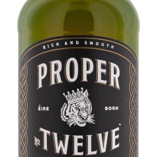 Personalised Proper No Twelve 70cl Engraved Blended Whisky engraved bottle