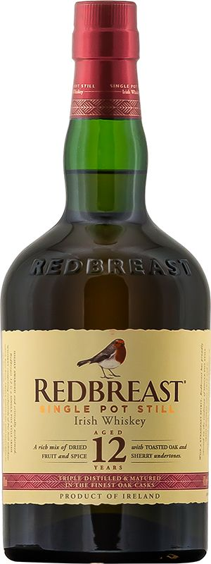 Personalised Redbreast 12 Year Old 70cl Engraved Whisky engraved bottle
