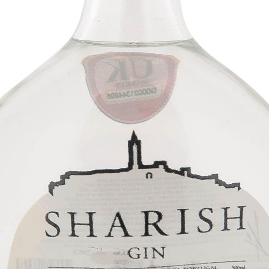 Personalised Sharish Original 50cl Engraved Gin engraved bottle